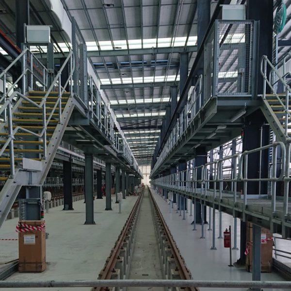 New Intercity Fleet Maintenance Facility