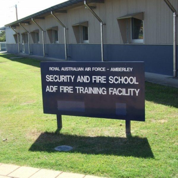 RAAF Amberley Fire Training School